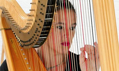 Aurélie Viegas - harpiste